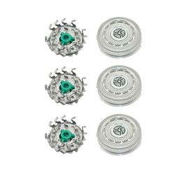 3x Men's Replacement Shaver Head for Philips Norelco 9000/70