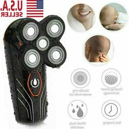 5 Head Floating Rechargeable Men Electric Shaver Beard Hair