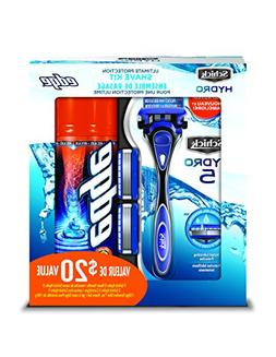 Schick Hydro 5 Holiday Value Pack for Men with 1 - Hydro 5 R