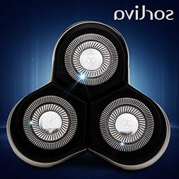 Sorliva Electric Shaver Replacement Heads Razor Heads for Ph