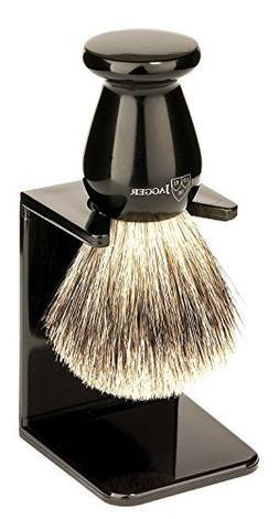 Edwin Jagger Best Badger Shaving Brush with Drip Stand, Imit