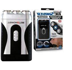 Bell+Howell Tac Shaver, Mustache and Beard Rotary Shaver wit