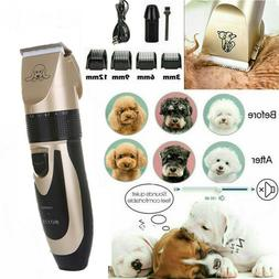 For Cat Dog Pet Animal Hair Grooming Electric Trimmer Clippe