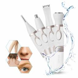 Women Washable Hair Trimmer Removal Electric Body Epilator S