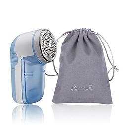 SUNMAY Electric Lint Shaver Sweater Defuzzer Pill Remover, B