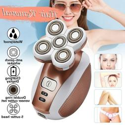Electric Shaver Women Body Facial Hair Remover USB Tweez Hai