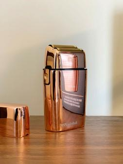 BaByliss Pro FX02 Double Foil Shaver Rose Gold Cord/Cordless