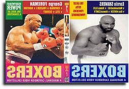 GEORGE FOREMAN & EARNIE SHAVERS  | Historic Boxing DVD or DO