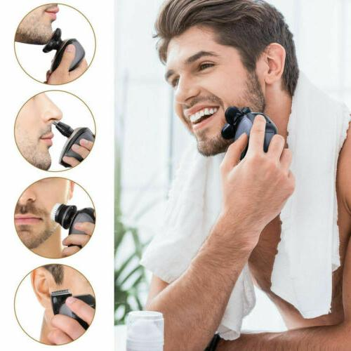 5 1 Rotary Electric Bald Head Trimmer