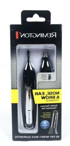 REMINGTON Dual Head Trimmer for Nose, Ear and Brow ~ Battery
