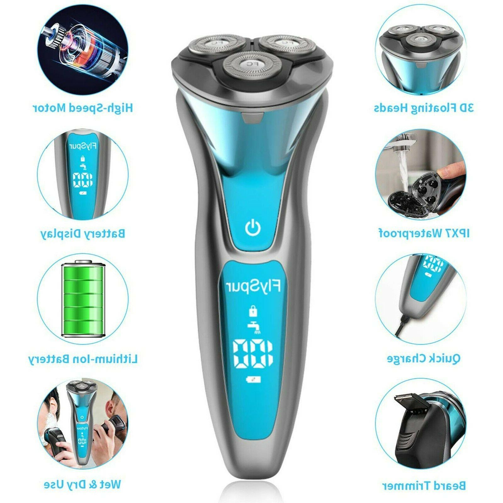 FlySpur Quick Rechargeable Shaver IPX7