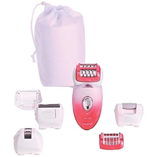 Panasonic ES-ED90-P Ladies Wet and Dry Epilator/Shaver, Pack
