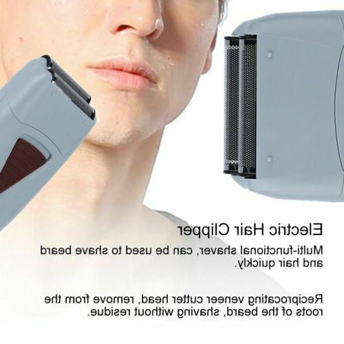 Men Electric Shaver Beard Trimmer Machine USB