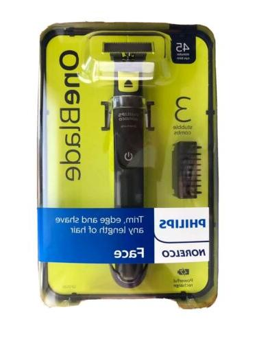 NEW OneBlade Mens Electric Face Trimmer QP2520/70
