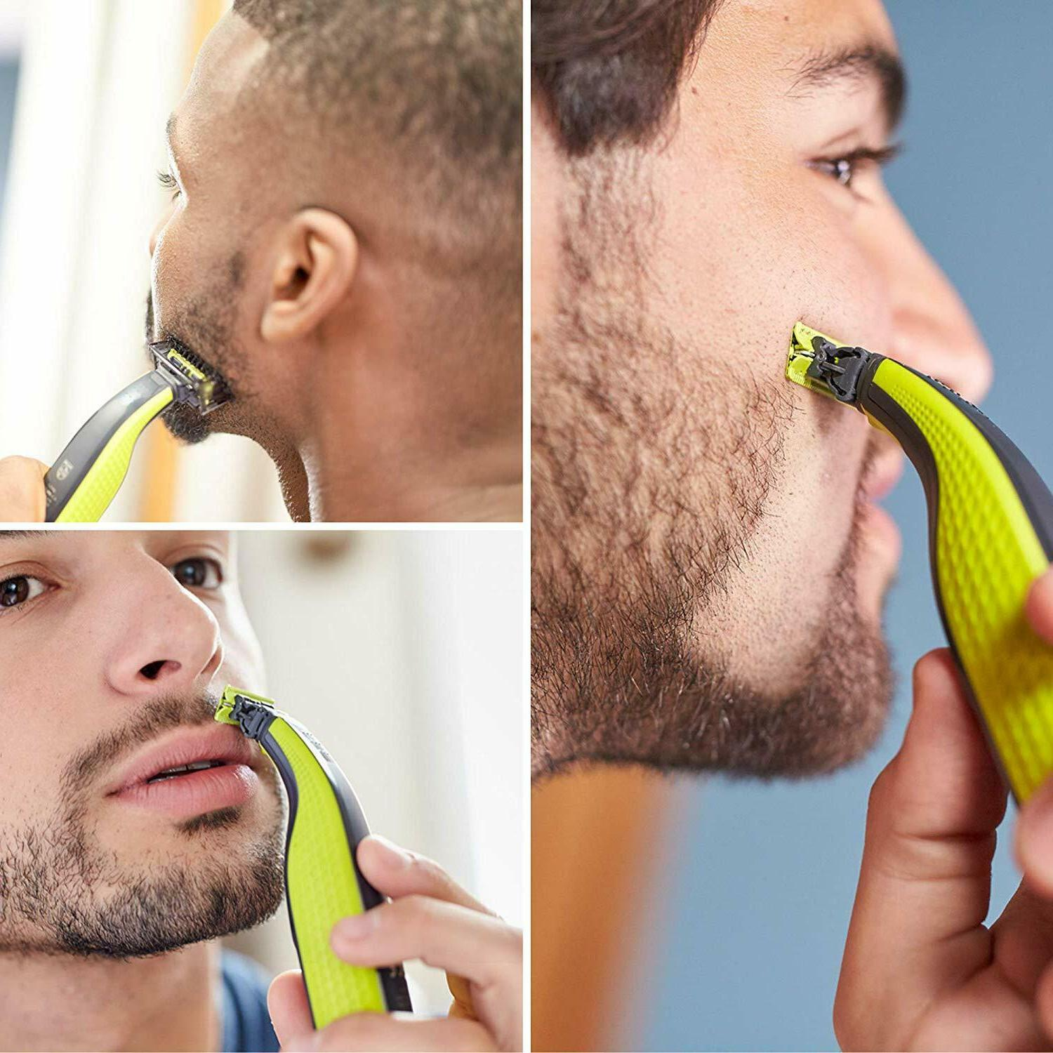 NEW Norelco Mens Face Trimmer QP2520/70