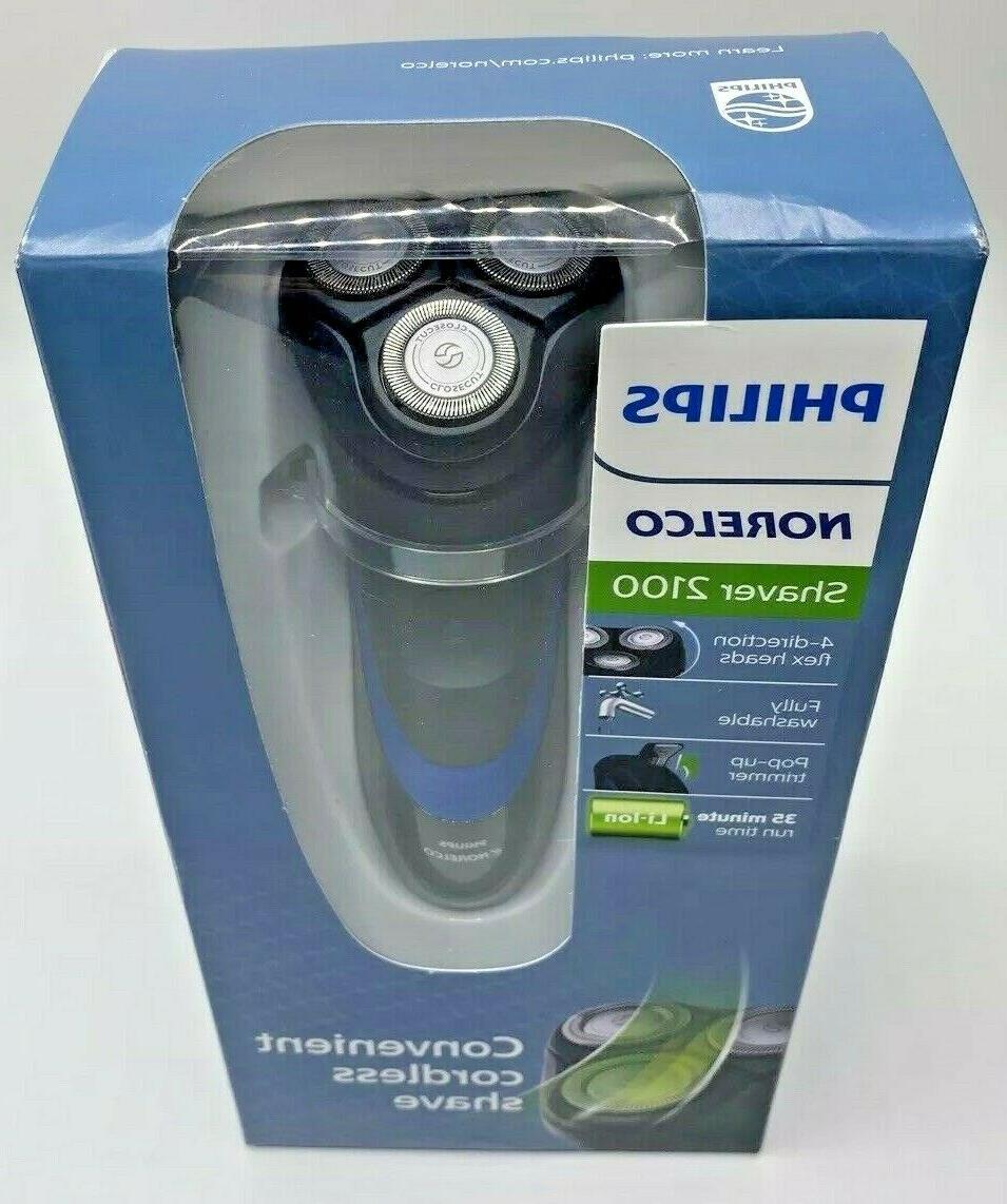 NEW Philips Shaver 2100 Dry Electric Rotation Shaver S1560/81-