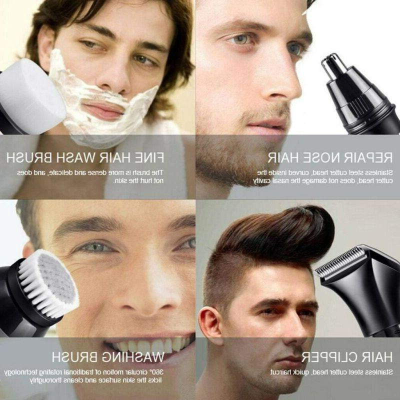 5 IN 4D Rotary Bald Head Shaver