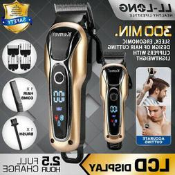Men Electric Shaver Trimmer Razor USB Rechargeable Hair Bear
