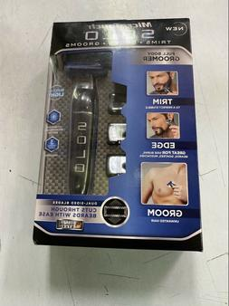 Men's SOLO Rechargeable Trimmer Razor Shaver Edges W/3 Combs