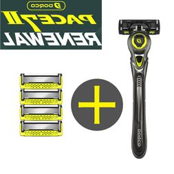 Dorco New Pace 7 II World's First Seven Razor Blade 1 handle