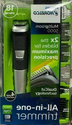 Philips Norelco Multigroom 5000 18 attachments MG5750/49