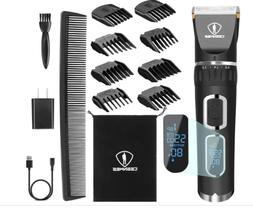 Professional Hair Clipper Barber Shavers Machine Cordless Ul