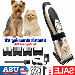 Professional Pet Cat Dog Hair Clipper Trimmer Shaver Cordles