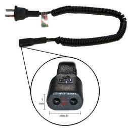 New AC Shaver Cord fits Many Norelco, Braun, Remington and O