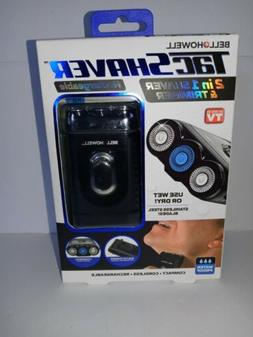 Tac 2 in 1 Rechargeable Shaver & Trimmer By Bell+Howell.