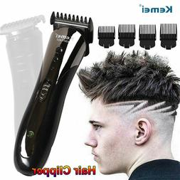 Ultra Quiet Hair Clippers Rechargeable Strong Trimmer Mousta