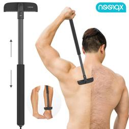US Back Shaver Mens Body Shaver Hair Razor DIY Grooming Leg