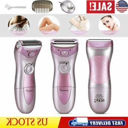 Women's Ladies Rechargeable Shaver For Body Face & Legs Unde